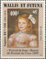 [Airmail - The 150th Anniversary of the Birth of Pierre Auguste Renoir, Painter, 1841-1919, type QG]