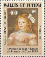 [Airmail - The 150th Anniversary of the Birth of Pierre Auguste Renoir, Painter, 1841-1919 - Self-Adhesive, type QG1]