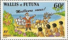 [Greetings Stamp - Christmas, type QS]