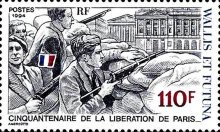 [The 50th Anniversary of Liberation of Paris, Typ SO]