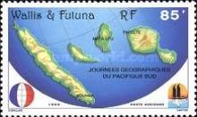 [Airmail - South Pacific Geographical Days, Typ SP]