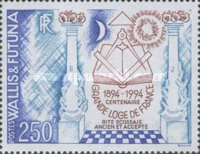 [The 100th Anniversary of Grand Lodge of France, Typ SZ]