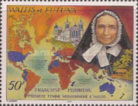 [Francoise Perroton, First Woman Missionary to Wallis, Commemoration, Typ UJ]