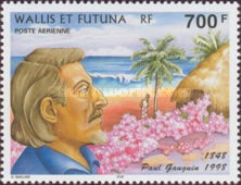 [Airmail - The 150th Anniversary of the Birth of Paul Gauguin, Artist, 1848-1903, Typ VY]