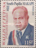 [The 2nd Anniversary of the Death of Sosefo Papilio Makape, President of General Council, 1962-77, 1928-1998, type XB]