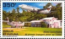 [Airmail - The 30th Anniversary of Air Transport on Futuna Island, type XE]