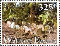 [Grave of Fakavelikele, First King of Wallis and Futuna, type YK]