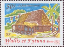 [Traditional Thatched Houses, Fale, Typ YR]