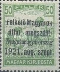 [Hungary Postage Stamps Overprinted - Reaper & Parliament, type A4]