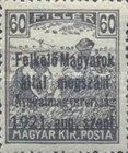 [Hungary Postage Stamps Overprinted - Reaper & Parliament, type A5]