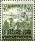 [Hungary Postage Stamps Overprinted - Reaper & Parliament, type C3]