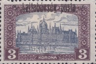 [Hungary Postage Stamps Overprinted - Reaper & Parliament, type C8]