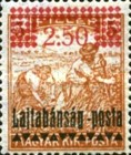 [Hungary Postage Stamps Overprinted - Reaper, type D]