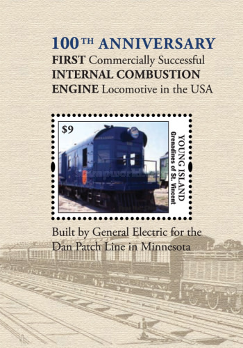 [The 100th Anniversary of the First Internal Combustion Engine Locomotive in the USA, Typ ]