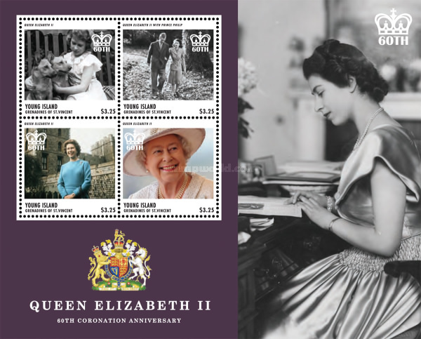 [The 60th Anniversary of the Coronation of Queen Elizabeth, Typ ]