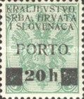 [Bosnia Herzegovina Postage Stamps & Postage Due Stamps Overprinted with Latin or Cyrillic Letters and Surcharged, Typ E4]