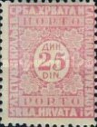 [Numeral Stamps, Typ J26]