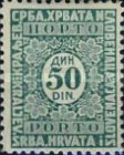 [Numeral Stamps, Typ J28]