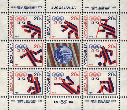 [Yugoslav Medal Winners of the 1984 Olympics in Los Angeles, USA, Typ ]