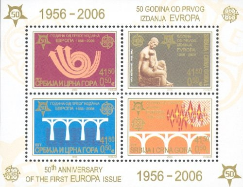 [The 50th Anniversary  of EUROPA Stamps, type ]