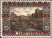 [Postage Stamps from Bosnia-Herzegovina Overprinted, type A2]