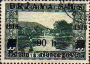 [Postage Stamps from Bosnia-Herzegovina Overprinted, type A5]