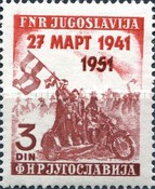 [The 10th Anniversary of the 1941 Coup D` Etat, type AAU]