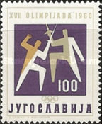 [Olympic Games - Rome, Italy, type ALJ]
