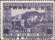 [Postage Stamps from Bosnia-Herzegovina Overprinted, type B7]