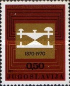 [The 100th Anniversary of Telegraph in Montenegro, type BDT]
