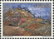 [EUROPA Stamps - Paintings of Landscapes, Typ BOS]