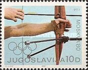 [Olympic Games - Moscow, USSR, type BTF]