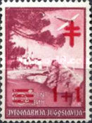 [The Fight Against Tuberculosis - Airmail Issue of 1937 Surcharged, Typ BV8]