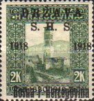 [Postage Stamps from Bosnia-Herzegovina Overprinted, type C]