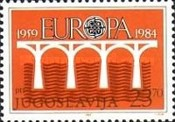 [EUROPA Stamps - Bridges - The 25th Anniversary of C.E.P.T., 1959-1984, Typ CBW]