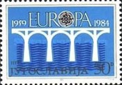 [EUROPA Stamps - Bridges - The 25th Anniversary of C.E.P.T., 1959-1984, Typ CBX]
