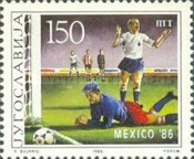 [Football World Cup - Mexico 1986, Typ CFA]