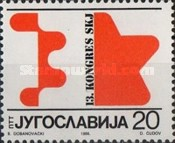 [The 13th Congress of the League of Communists of Yugoslavia (SKJ), Belgrade, Typ CGD]