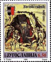 [The 500th Anniversary of Idrija and Idrija Mine, type CPK]