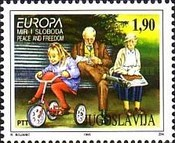 [EUROPA Stamps - Peace and Freedom, type CZZ]