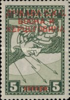 [Bosnia Herzegovina Special Delivery Stamps Overprinted - Cyrilic Letters, type D8]