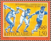 [The 100th Anniversary of Modern Olympic Games, type DCA]