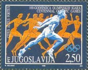 [The 100th Anniversary of Modern Olympic Games, type DCB]