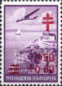 [The Fight Against Tuberculosis - Airmail Issue of 1937 Surcharged, Typ DT]