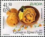 [EUROPA Stamps - Gastronomy, type DVC]