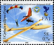 [The 100th Anniversary of International Civil Aviation Organization, type DWB]