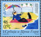 [EUROPA Stamps - Integration Through the Eyes of Young People - Children's Paintings, type DXK]