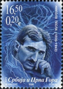 [The 150th Anniversary of the Birth of Nikola Tesla, 1856-1943, type DXO]