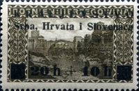 [Bosnia & Herzegovina Stamps Surcharged, Typ I1]