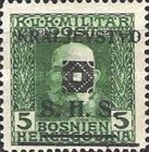 [Bosnia & Herzegovina Postage Stamps Overprinted - Latin Letters, type J11]